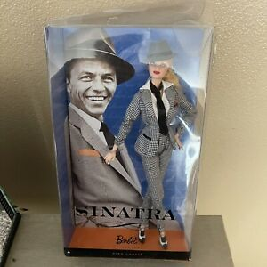 Frank Sinatra Barbie Collector Doll Pink Label By Mattel