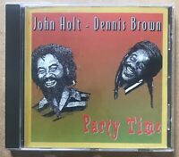 JOHN HOLT DENNIS BROWN - Party Time - CD Album Sonic Sounds ROOTS REGGAE LOVERS