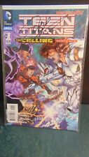 Teen Titans (New 52) Annual 1 Signed by Scott Lobdell