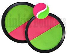 Correa de Velcro Mano Ball Game Pad Tirar Atrapar Al Aire Libre Jardín Playa Verano Set 39D