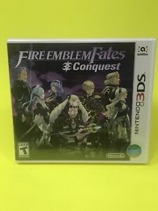 NEW SEALED NINTENDO 3DS DS FIRE EMBLEM FATES CONQUEST Int Version USA Ship