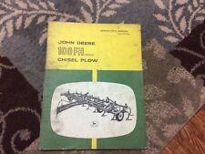 Vintage John Deere Operators Manual 100fh Series Pull Chisel Plow Omn159104