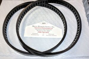 2-pack! BWS Blade Pulley Replacement Tire for Portable Band Saw FREE SHIPPING!