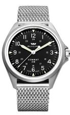 Glycine 3943.19AT.MM Combat 7 Vintage Automatic 41mm Black Dial - GL0237