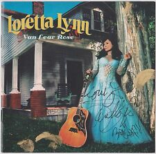 LORETTA LYNN & JACK WHITE - Van Lear Rose - Hand Signed CD with COA - FREE SHIP