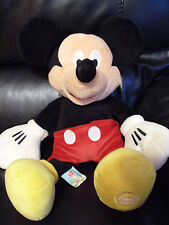 Rare Disney Store World Mickey Mouse Plush Cuddly Soft Toy Teddy Cartoon