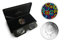 TOP RARE :: Niue 2$ 2015 Silver 1oz :: CHROMADEPTH coin with 3D Glass!