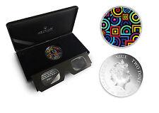 TOP RARE :: Niue 2$ 2015 Silver 1oz :: CHROMADEPTH coin with 3D Glass!