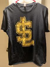 Salt Lake Bees T-Shirt, Size Adult Medium, Allstate Giveaway, Black/Yellow
