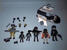 Lot Playmobil personnage + accessoires agent secret et autre différentes époques