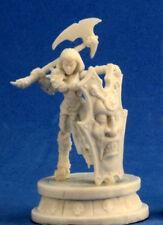 1 x ANTIPALADIN FEMALE - BONES REAPER figurine miniature guerrier warrior 77299