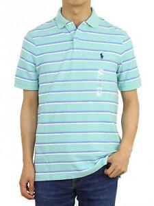 Polo Ralph Lauren Classic Fit Mesh Striped Short Sleeve Polo Shirt - 6 colors