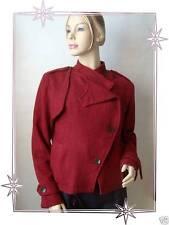 Superbe Blouson Veste Rouge  Lulu Castagnette Taille L
