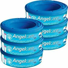 Angelcare AC1106 Refill Cassettes, 6-pack
