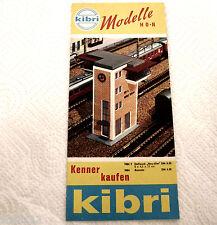 Kibri Spur H0 Prospekt 1964 Top