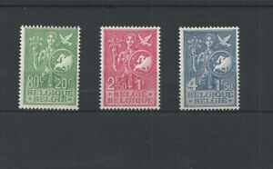 Postage Stamps Belgium  1953 -  927/929  European Thoughts. MNH**