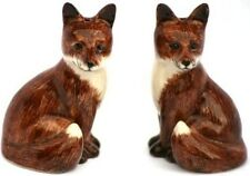 Quail Ceramics Fox Salt and Pepper Cruet Set Hunting Gift Boxed