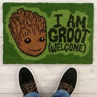 OFFICIAL GUARDIANS OF THE GALAXY MARVEL BABY GROOT DOORMAT DOOR MAT GIFT FAN