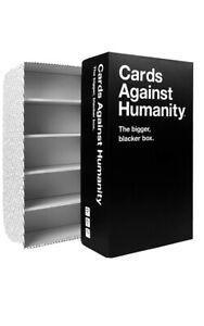 Cards Against Humanity The Bigger, Blacker Box Card Empty Storage Expansion Disc
