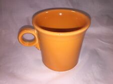Homer Laughlin Fiesta Ring Handle Tom & Jerry Mug Coffee Cup Tangerine Orange