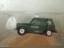 Rietze Mitsubishi Pajero Polizei grün in OVP aus Sammlung (*5)