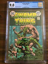 SWAMP THING #10 CGC 9.0 VF/NM DC Comics Bronze Age 5-6/74 Final Bernie Wrightson