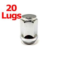 """20x Excalibur 1907 Lug Nuts 12x1.50 Bulge Acorn 3/4"""" Hex Chrome Closed End"""