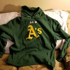 OAKLAND A' HOODIE - 4XL - UNDER ARMOUR - NWT