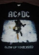 ACDC AC-DC BLOW UP YOUR VIDEO T-Shirt SMALL NEW