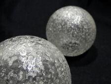 2 Stück identische  Ersatzgläser Glaskugeln für Tischlampe Stehleuchte