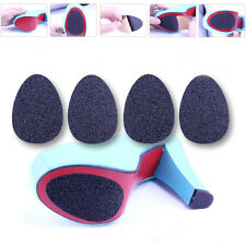 5 Pair Adhesive Anti-Slip Cushion Insole High Heel Shoe Sole Pad Foot Protector