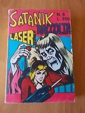 Raccolta SATANIK n. 5 (179-180-181) Corno 1974