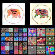 "Mama Bear Decal - Mama Bear Sticker - Gift for Mom - Laptop Window Tumbler - 6"""
