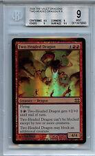 MTG Two-Headed Dragon BGS 9  Mint FTV Dragons Magic Mystic Foil Amricons 8690