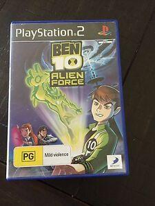 Ben 10 Alien Force PS2 Game