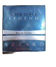 Chrome Legend Eau de Toilette Azzaro 1.4 Fl. Oz New In Box