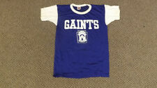 "Vtg 60s NOS ""GIANTS"" Little League Jersey/Shirt Mason Athletic Wear sz Lrg"