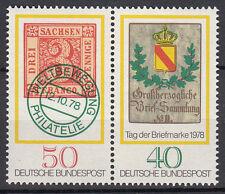 BRD 1978 MER. n. 980-981 ZD post fresco TOP!!! (27749)