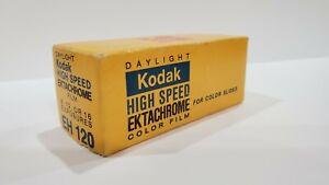 Kodak High Speed Ektachrome ISO 160. 120 Film. Expired Oct. 1975. Free Shipping.