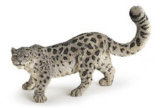 FREE SHIPPING   Papo 50160 Snow Leopard Wild Big Cat - New in Package
