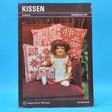 Kissen | Kreuzstich | Verlag für die Frau # 2102 | DDR 1982 B