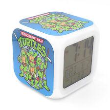 Led Alarm Clock TMNT Ninja Turtles Creative Digital Table Clock for Kid Toy Gift