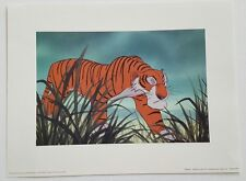 1998 WDCC Shere Khan Sculpture Event Litho  Disney Store Gallery Excl