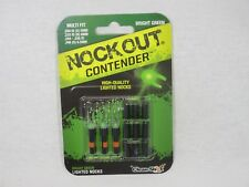 Clean-Shot Nock out Contender Illuminated Nocks Green multi fit