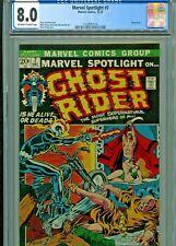 Marvel Spotlight # 7 Ghost Rider CGC 8.0 3rd app Ghost Rider Marvel (1972)