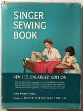 SINGER SEWING BOOK by Mary Brooks Picken | VTG 1954 3rd Edition | VG- Hardcover