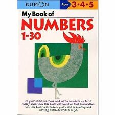 My Book of Numbers, 1-30 by Kumon Publishing Co, Ltd(Paperback / softback)