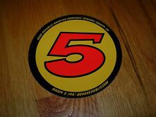 "BEAR REPUBLIC promo RACER 5 IPA 4"" STICKER decal craft beer brewing brewery"