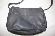 Vintage ROLFS Gray Genuine Leather Hobo Satchel Shoulder Bag-B130