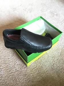 Hush Puppies Bayou slip on School Shoe  Size12.5 At Sale Price £20.00